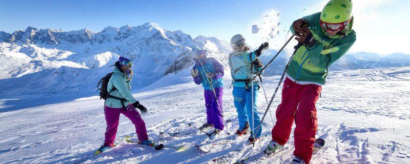 bataille de boule de neige Grand Massif @Tristan Shu GMDS