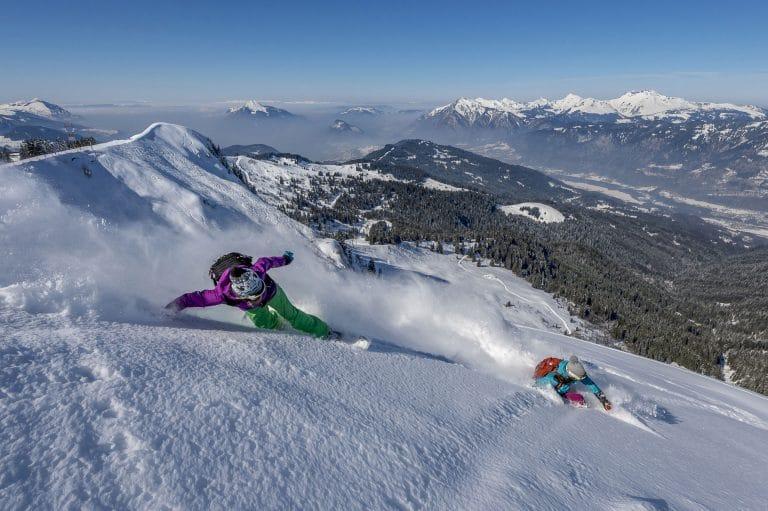 Le domaine skiable de Samoêns en Haute-Savoie