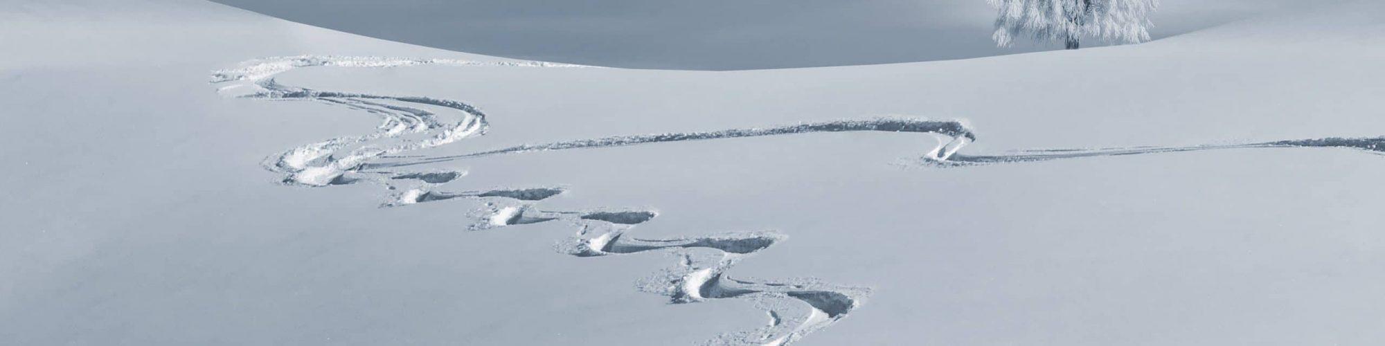 Trace de ski Samoëns