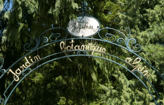 Jardin botanique de la Jaÿsinia