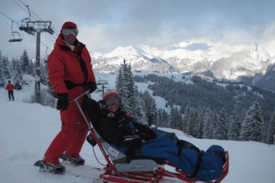 Cours de ski handi