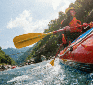 Sortie open kayak Samoëns