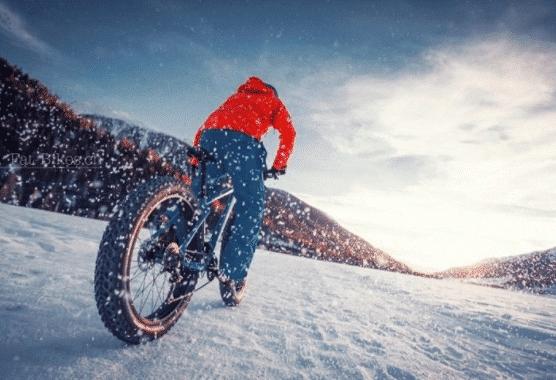 Fatbike en hiver à Samoëns