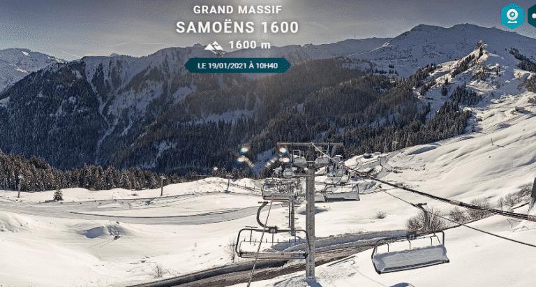 Webcam Samoëns 1600