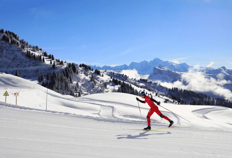 Ski de fond à Samoëns